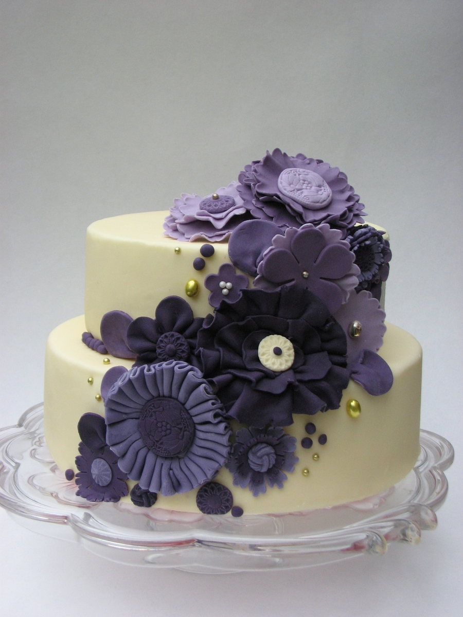 Purple on Cake Central