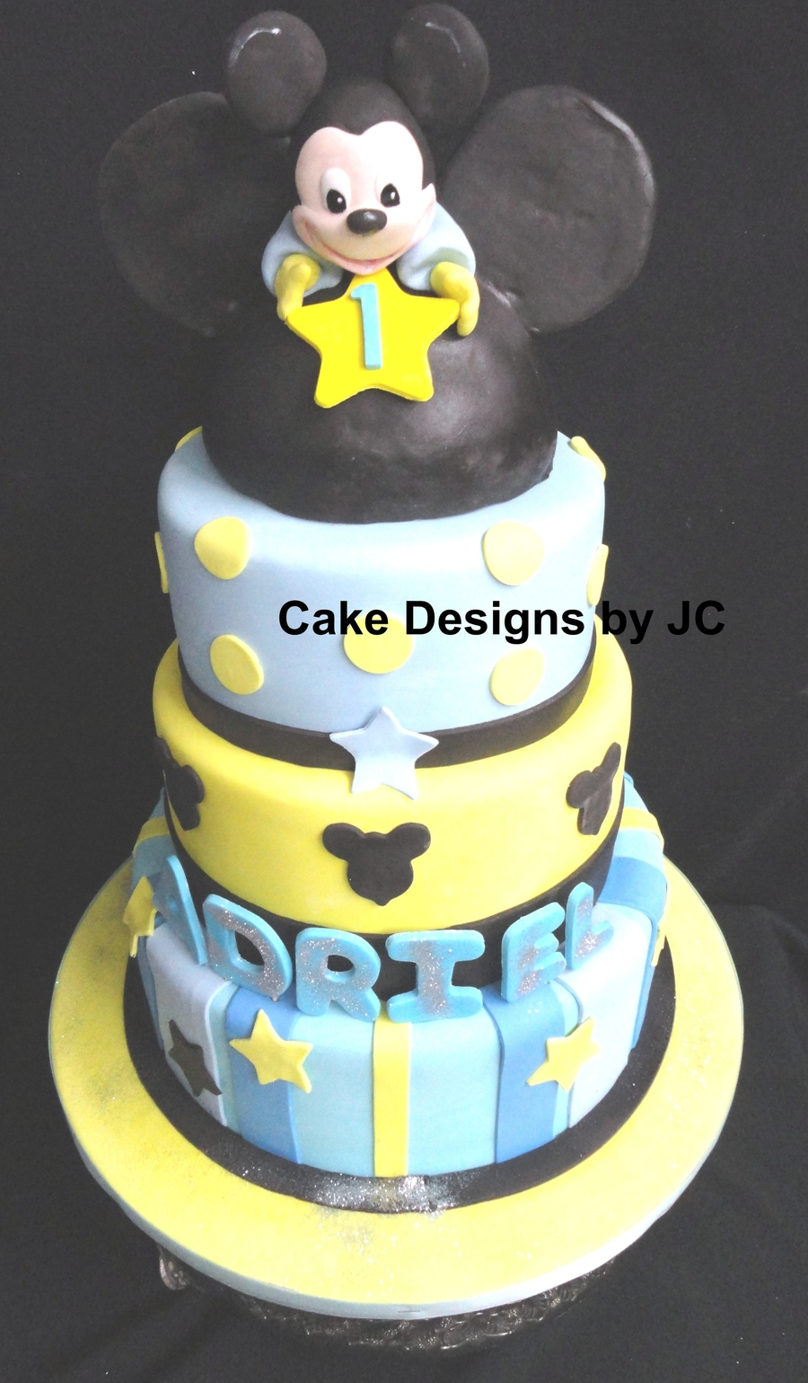 Baby Mickey #2 on Cake Central