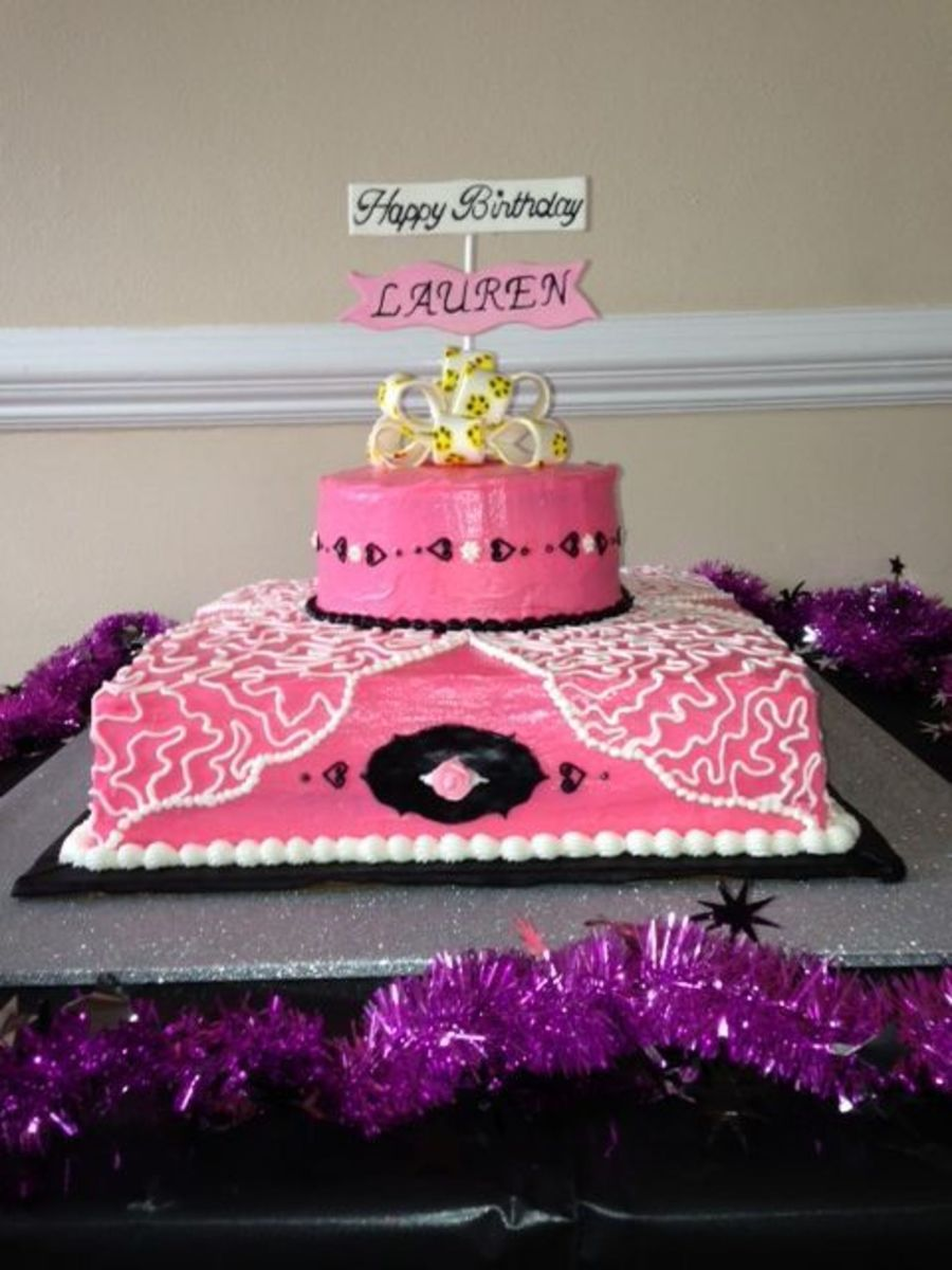 Sweet 16 Birthday on Cake Central