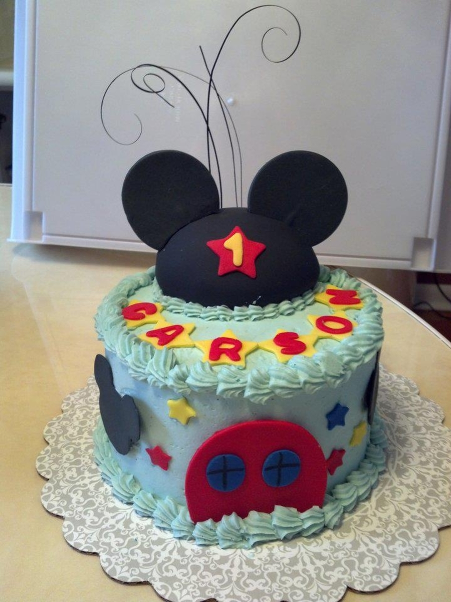 Mickey Mouse Clubhouse Smash Cake On Central