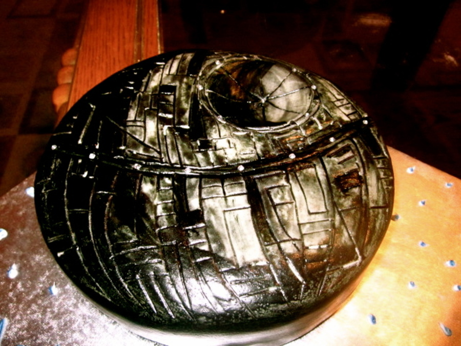 Death Star  on Cake Central