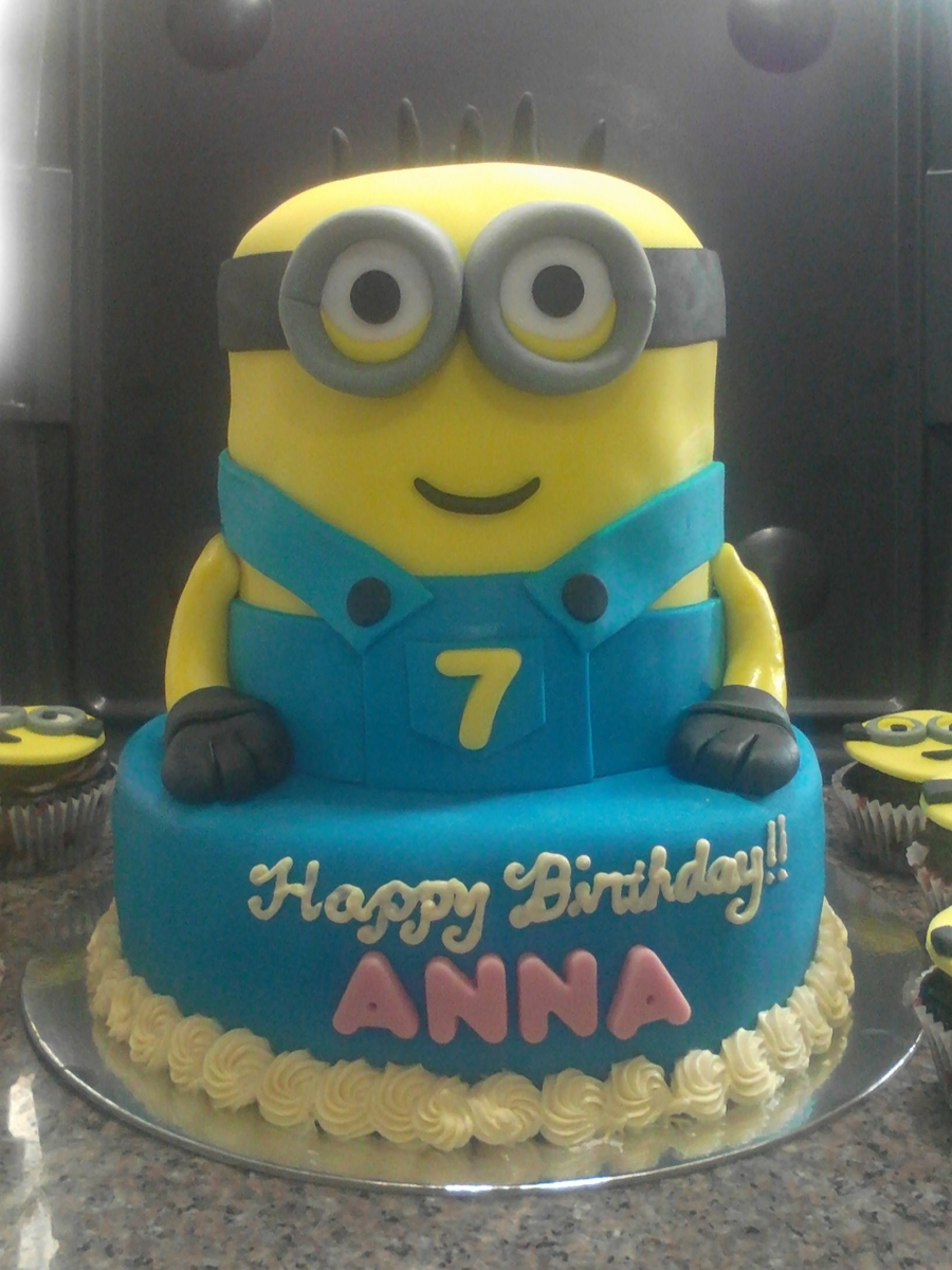Minion Birthday Cakes For Twins