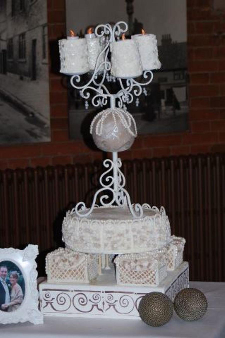Shabby Chic Meets Gothic Splendour on Cake Central