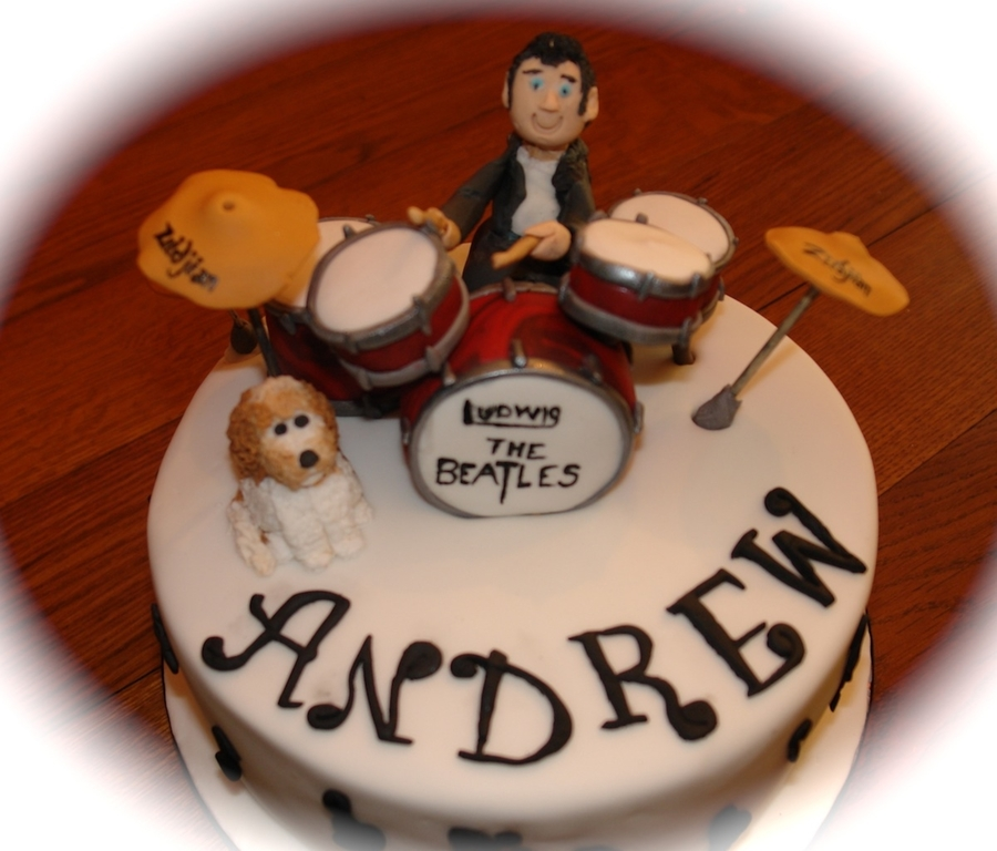 Drum Kit on Cake Central