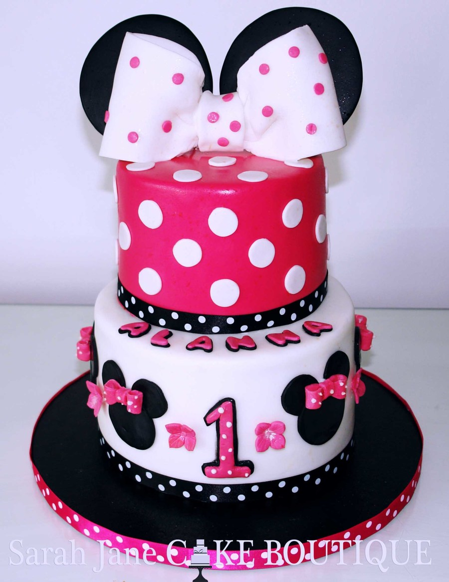 Mickey Birthday Cake Designs