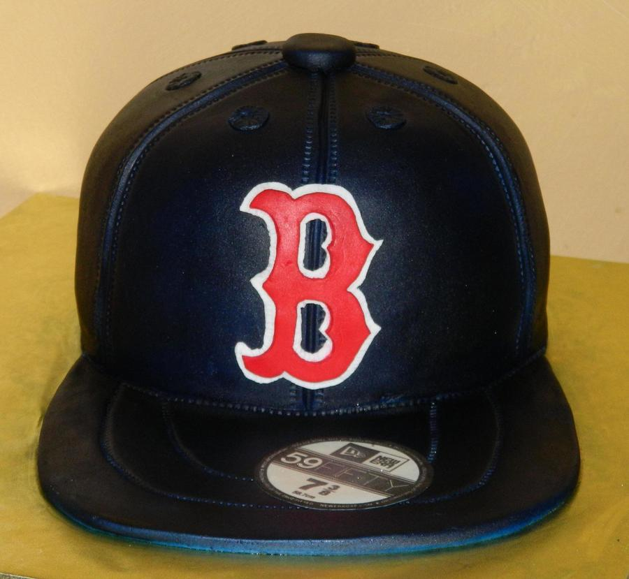 Red Sox Hat on Cake Central