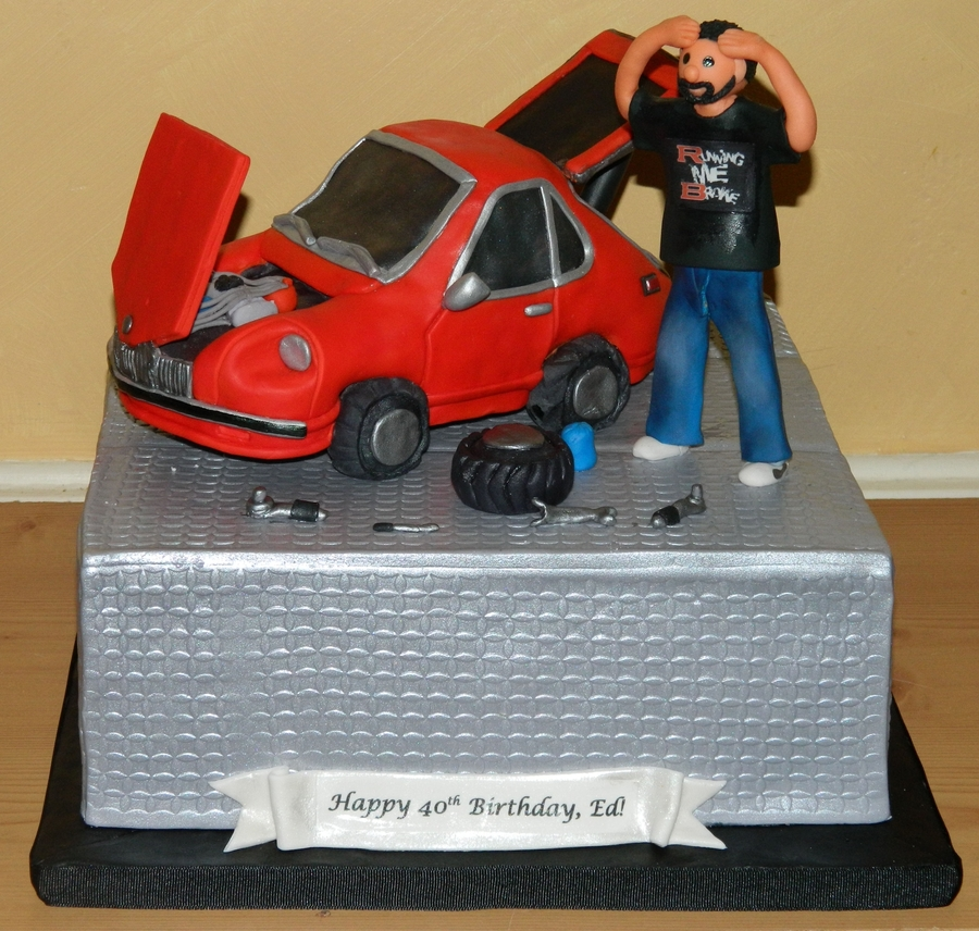 Men...cars on Cake Central