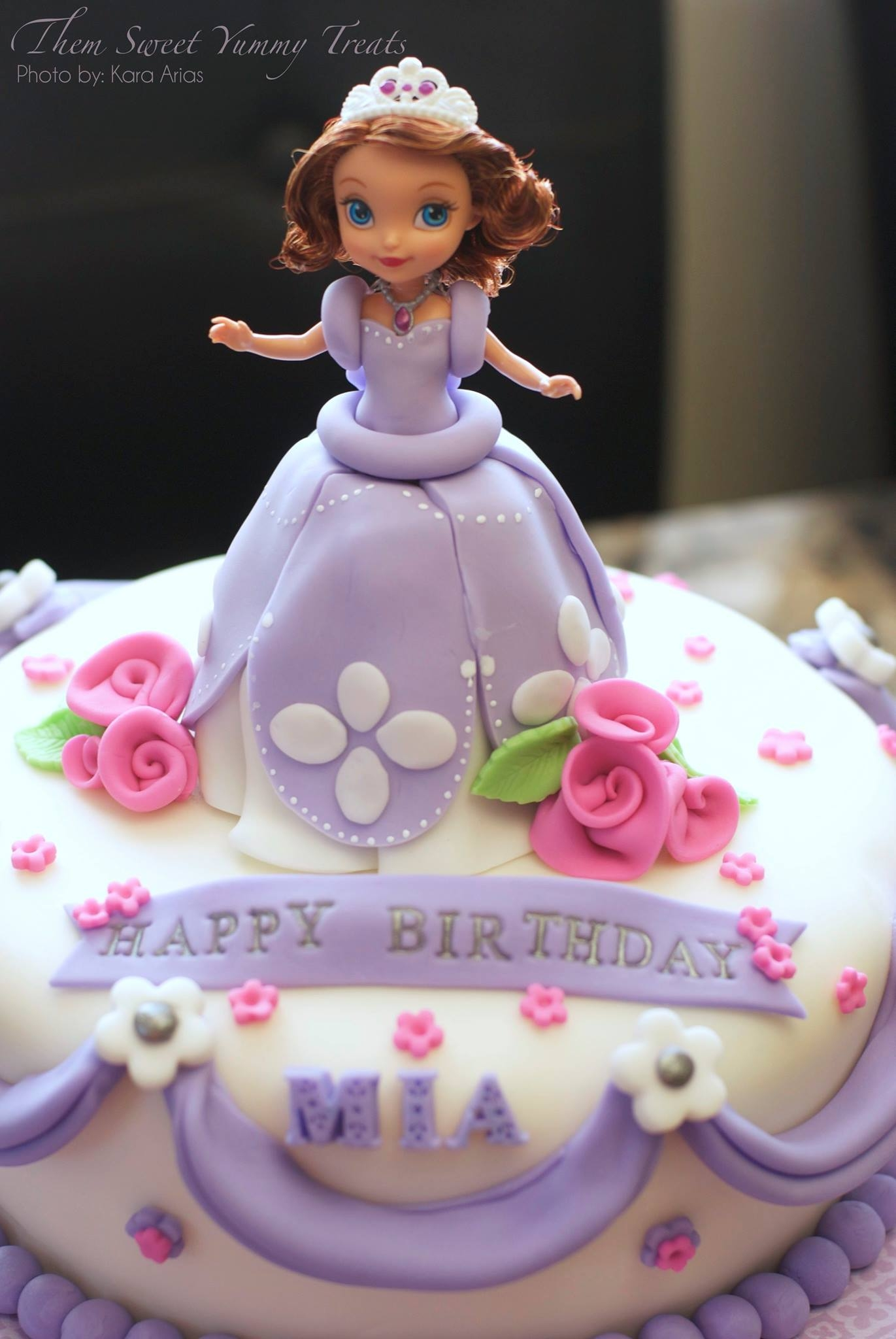 princess sofia cake princess sofia cake that i made for my goddaughter 6813