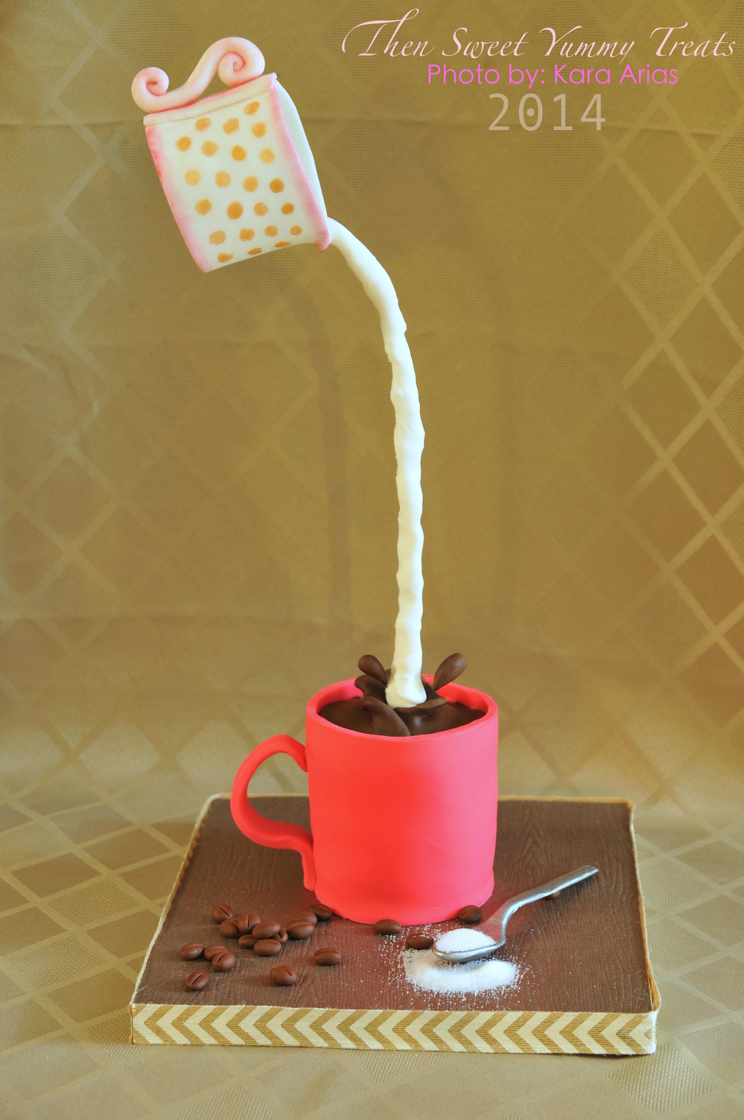 Cream Pouring Cake - CakeCentral.com