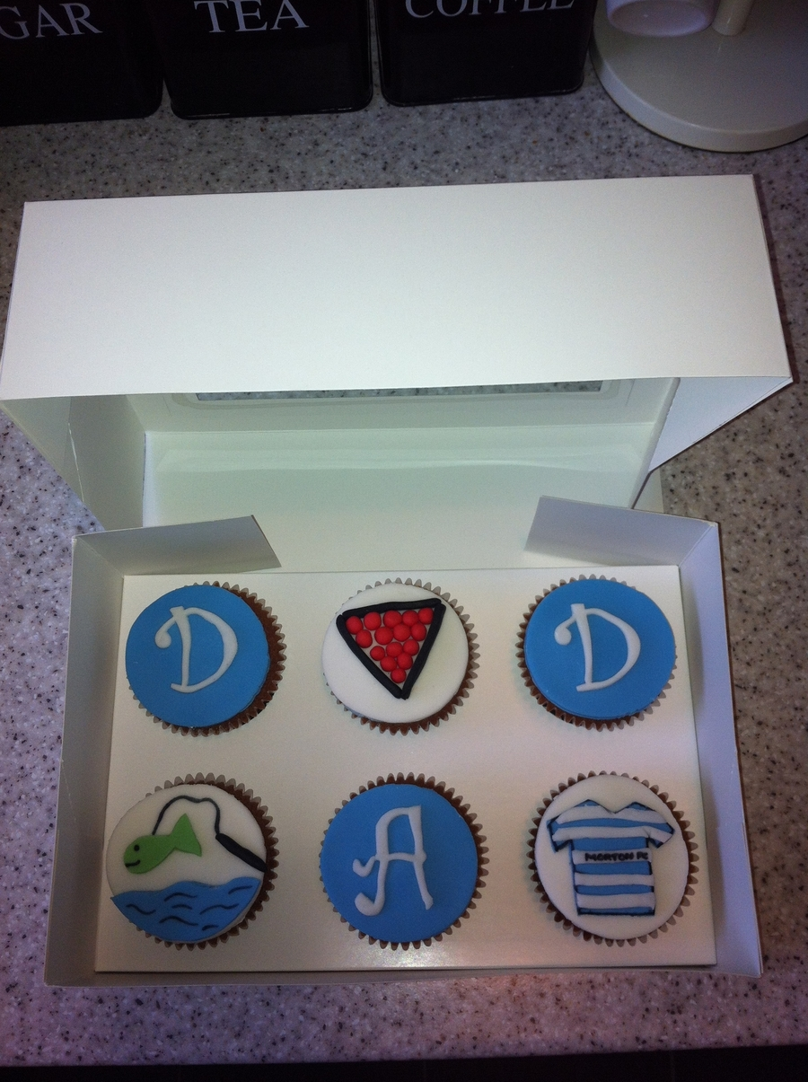Fathers Day Cupcakes on Cake Central