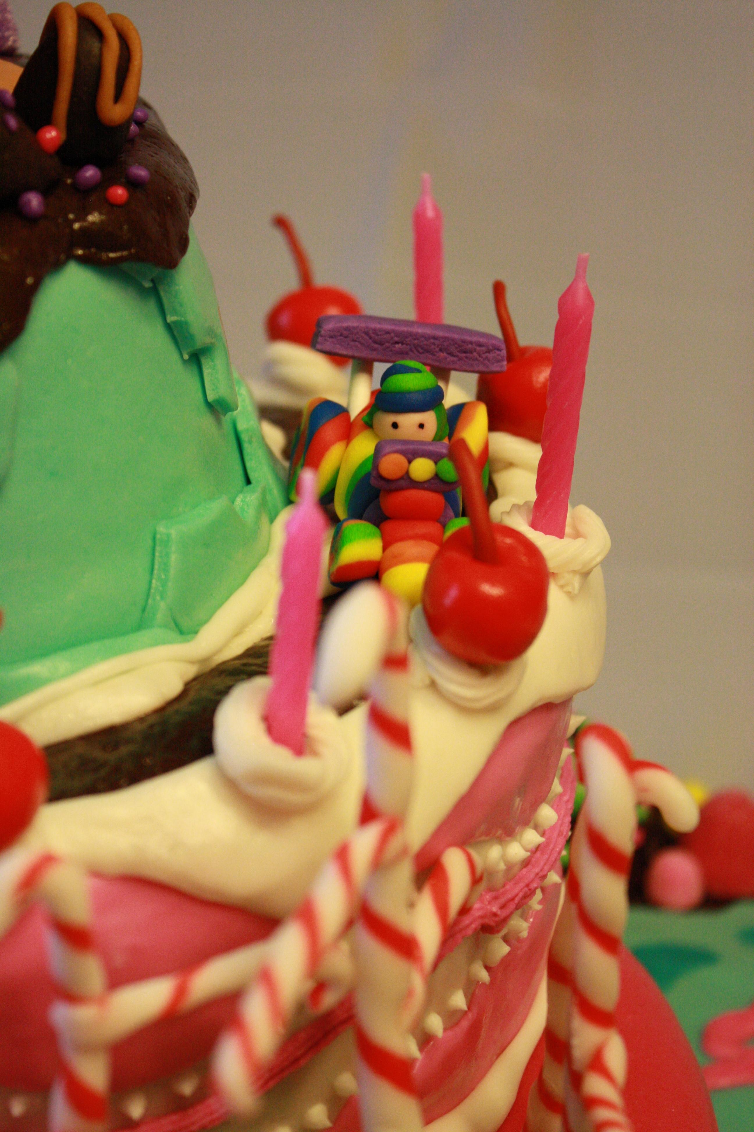 Sugar Rush From Wreck It Ralph 3rd Birthday Cake