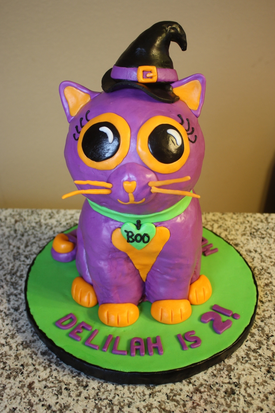 Kitty Cat Cake on Cake Central