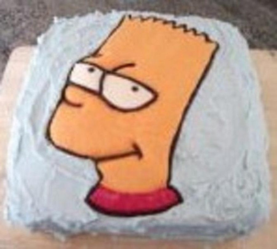 Do The Bartman on Cake Central