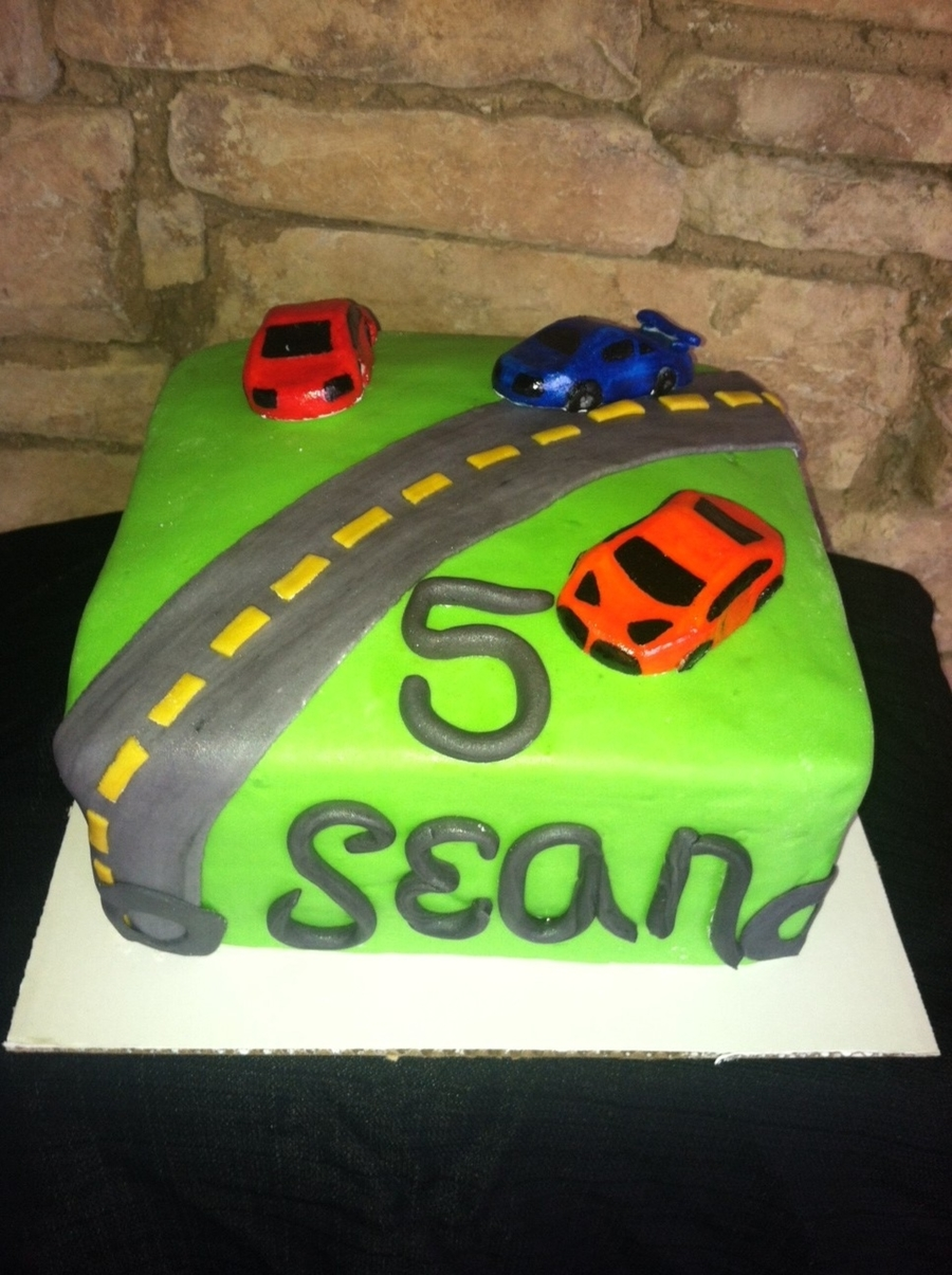 Cars 5Th Birthday Cake on Cake Central