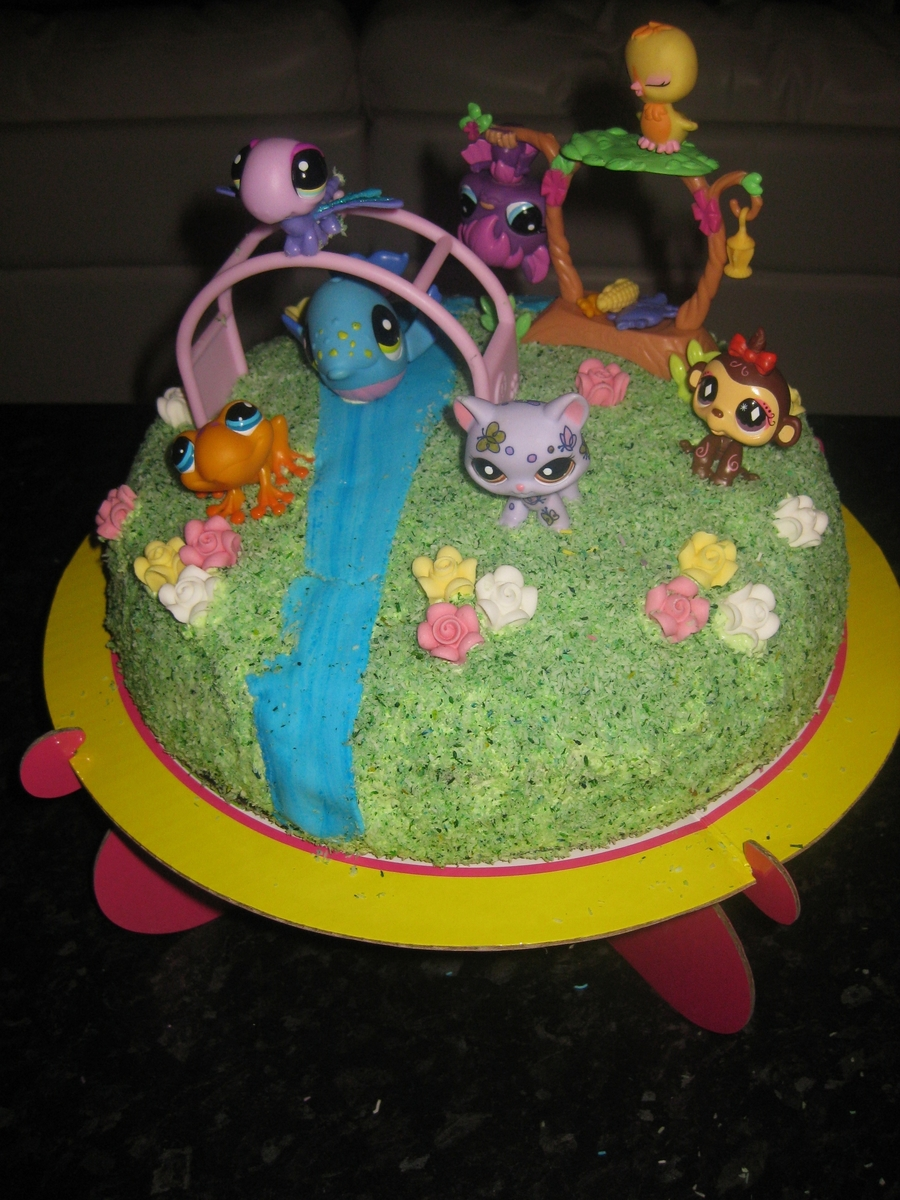 Lps, Rainbow Birthday Cake on Cake Central