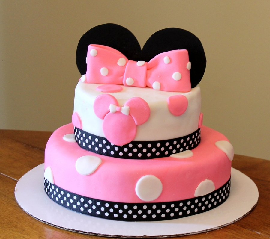Minney Mouse Birthday on Cake Central