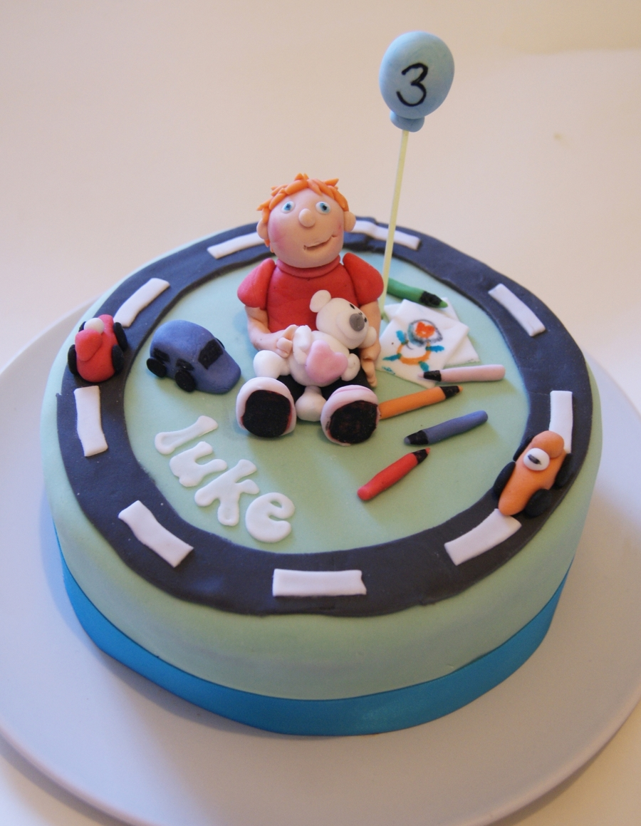 Little Boys Birthday Cake on Cake Central
