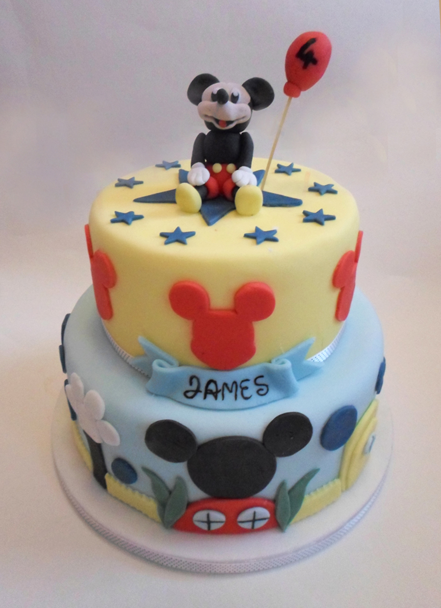 Mickey Mouse Clubhouse! on Cake Central