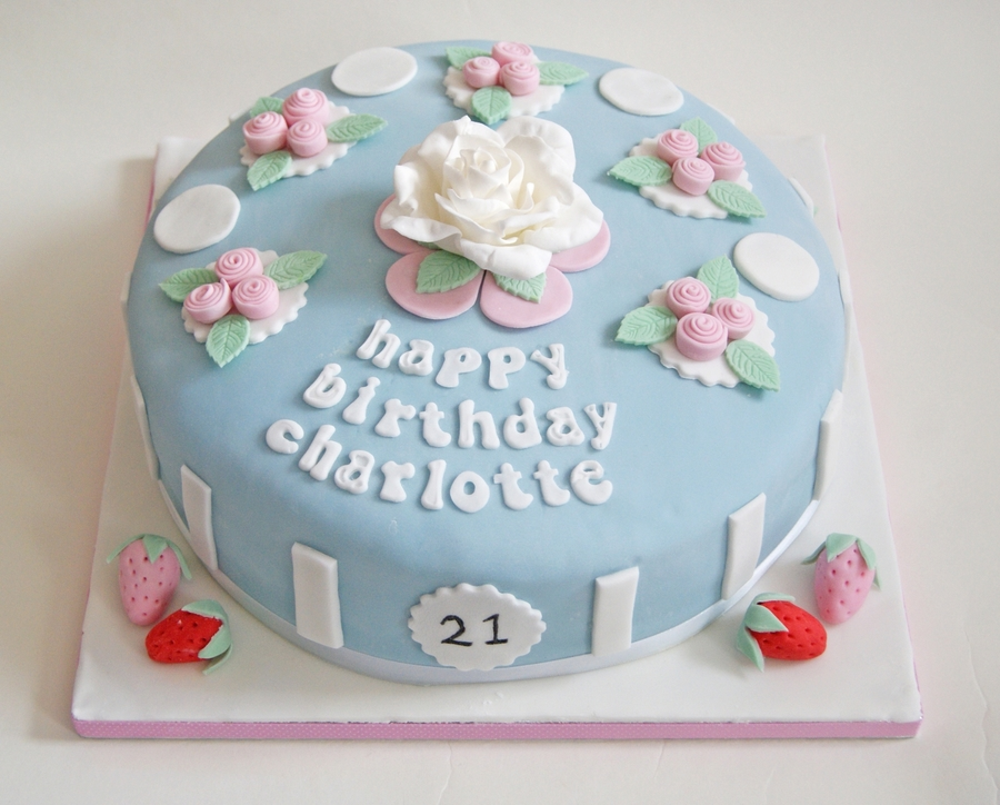Cath Kidston Inspired Cake on Cake Central