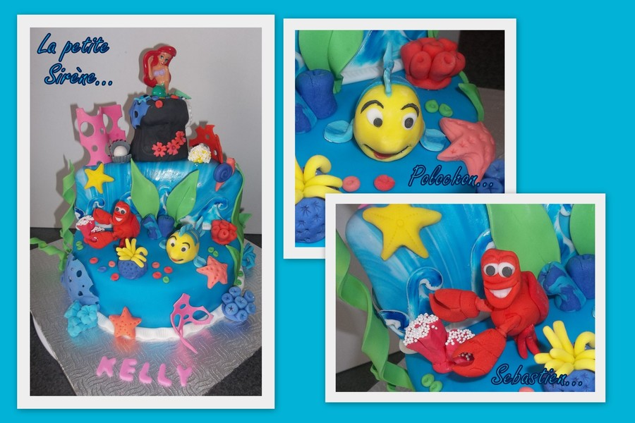 For A 5 Years Old Little Mermaid Fan on Cake Central