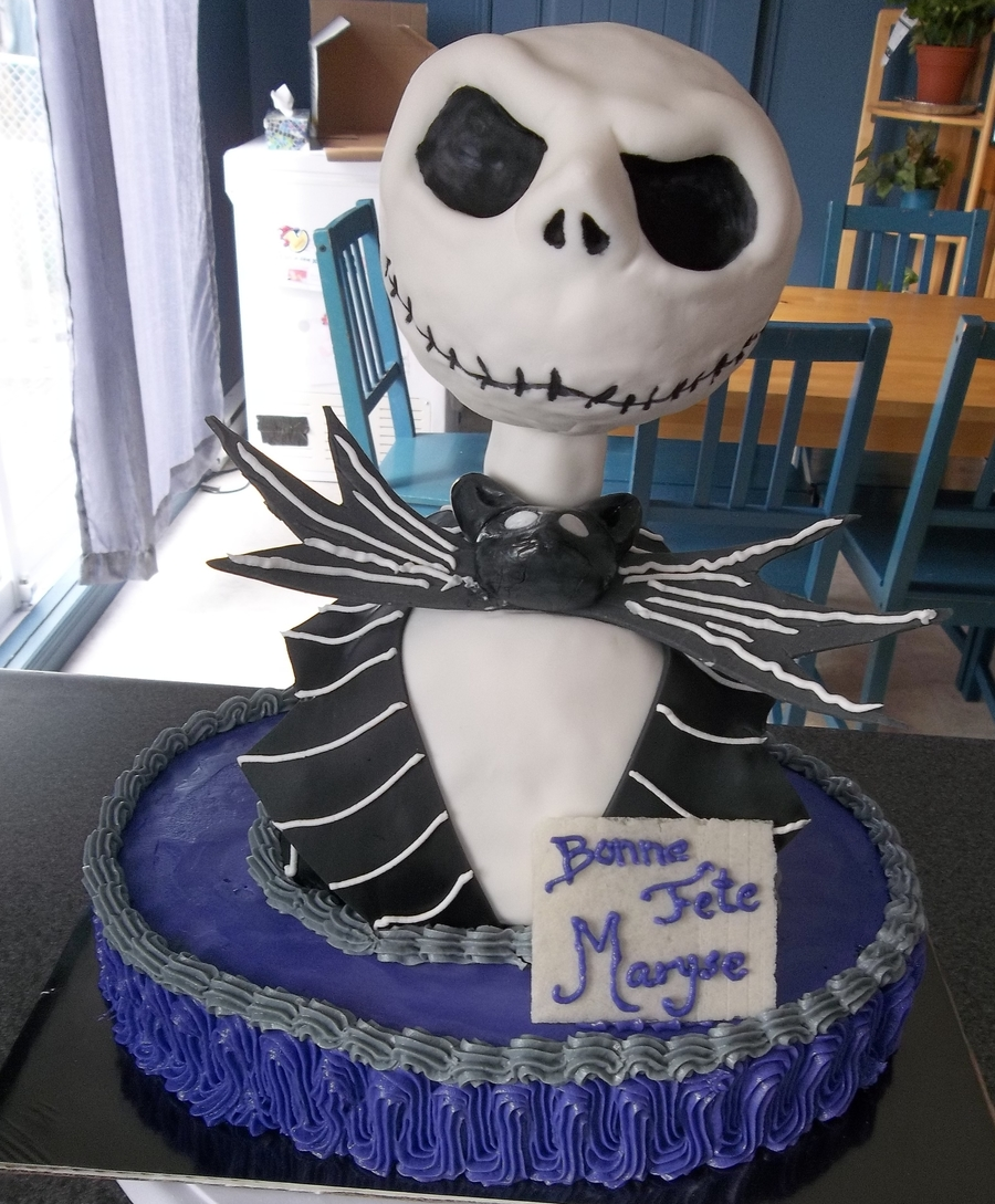Jack Skelington on Cake Central