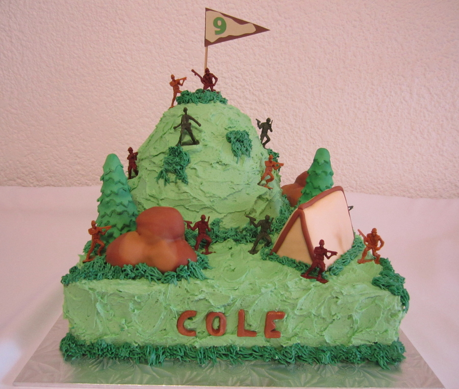 Army Mountain Cake on Cake Central