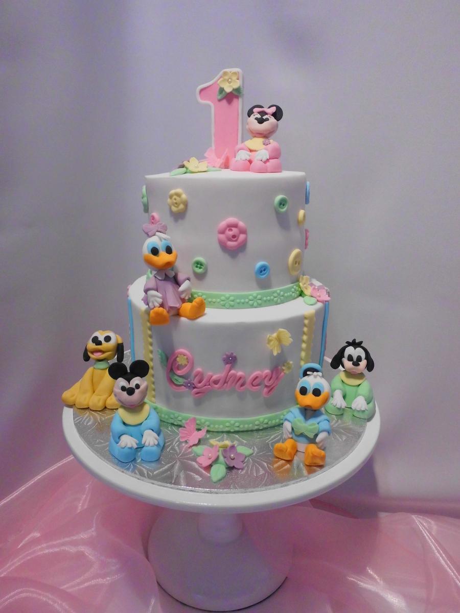 Baby birthday cake photo Banana Baby Birthday Smash Cake - Sugary Buttery