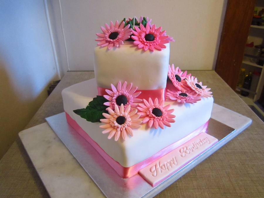 how to make a 2 tier cake step by step