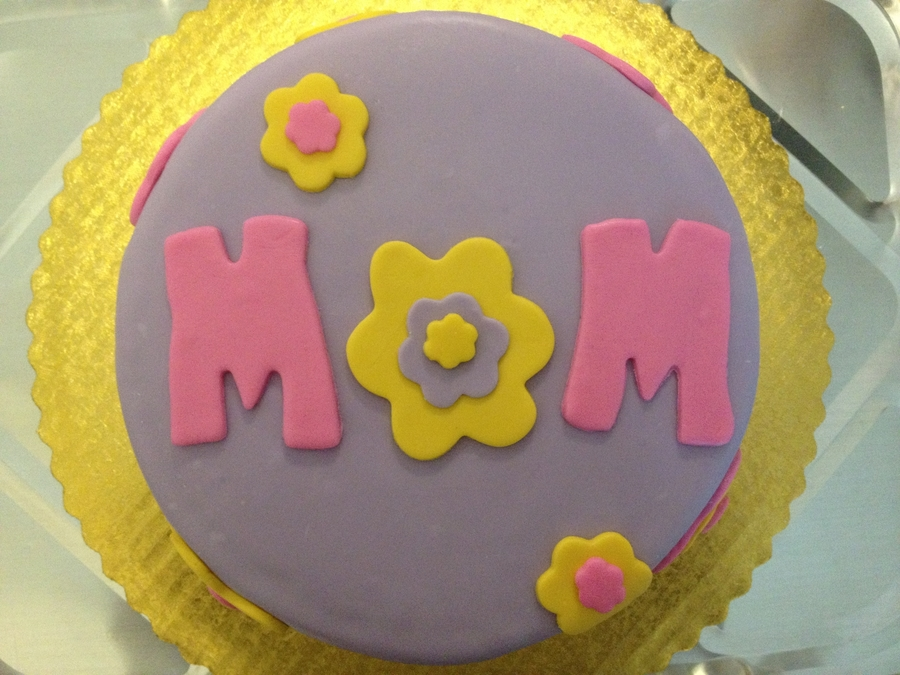 Made For Mom on Cake Central