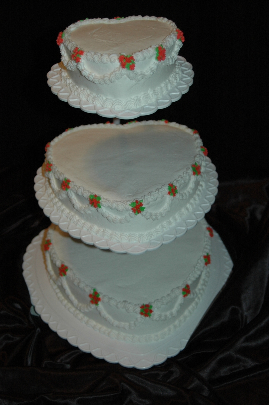 Heart Shaped Floating Tiers on Cake Central