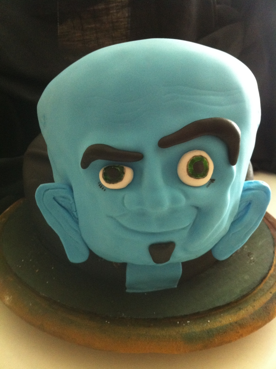 Megamind on Cake Central
