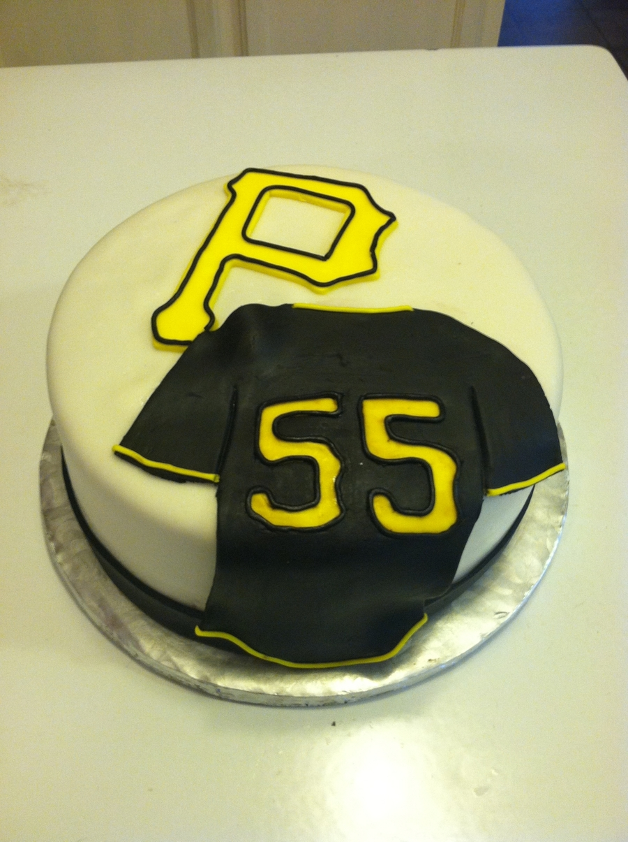 Pirates Baseball on Cake Central