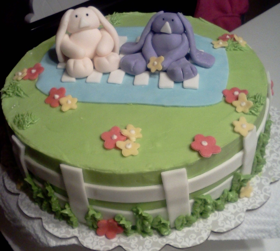 Bunnies on Cake Central