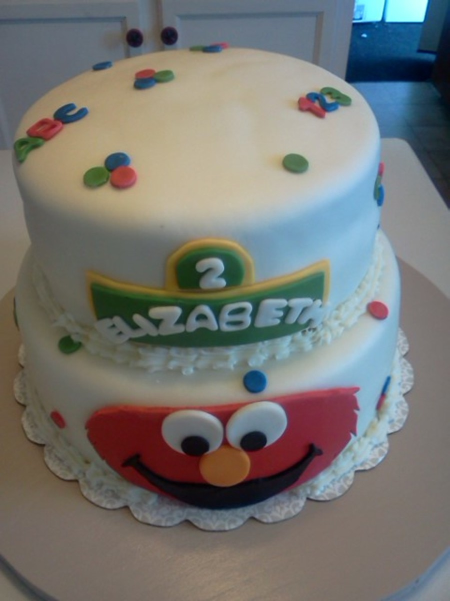 Elmo Birthday Cake on Cake Central