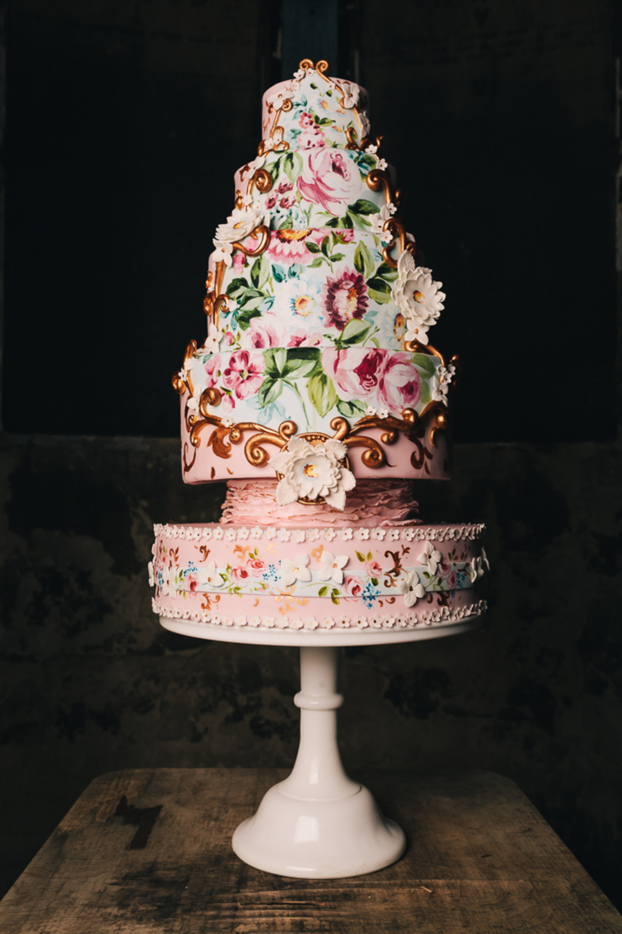 Baroque Wedding Cake Cakecentral Com