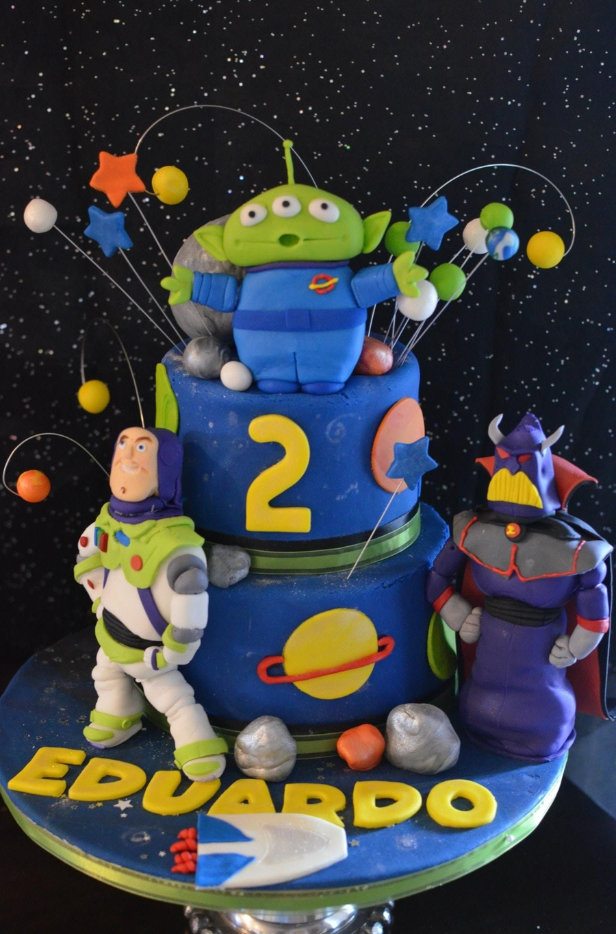 Buzz Light Year Themed Cake on Cake Central