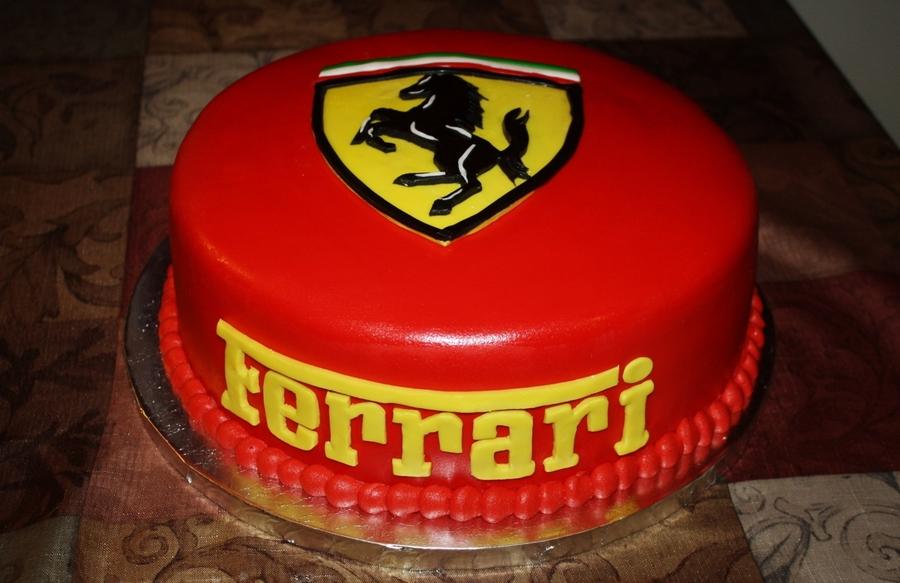 Ferrari Cake Cakecentral Com