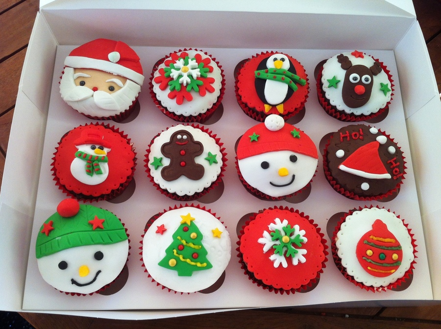 My Christmas Cupcakes on Cake Central