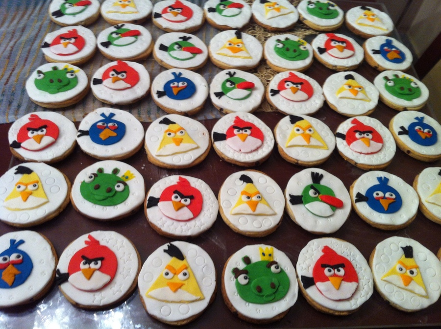My Angry Birds Cookies on Cake Central