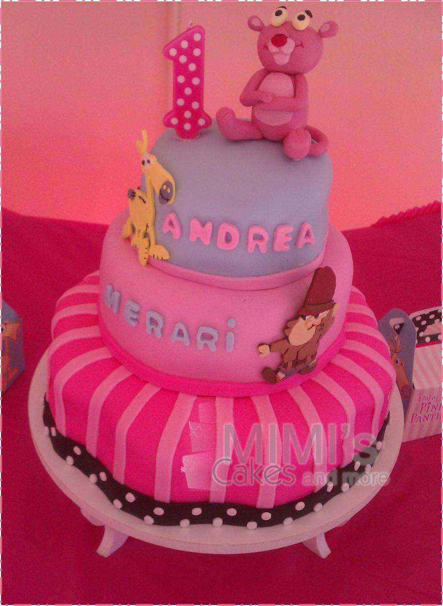 Baby Pink Panther on Cake Central