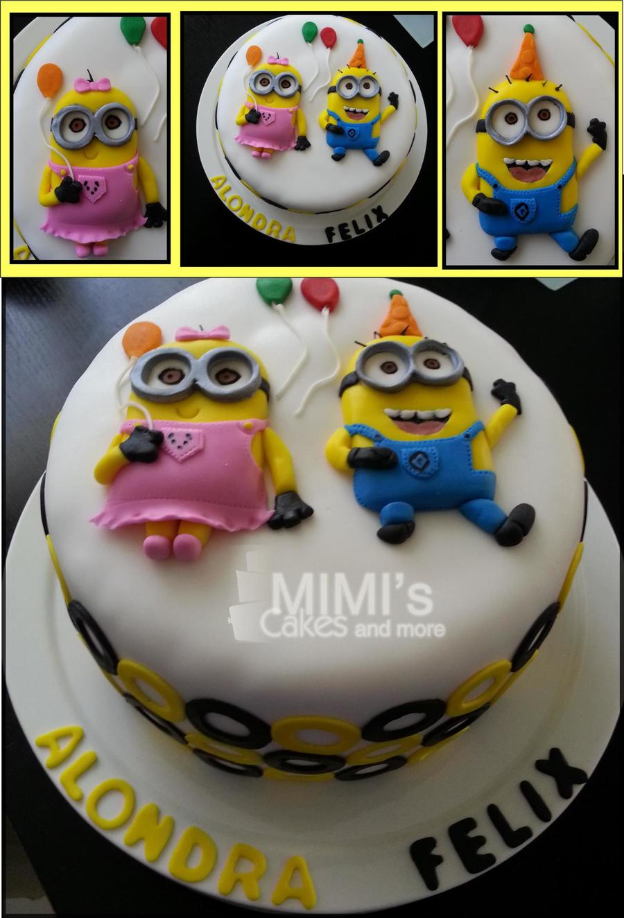 Minion Birthday Cake Cakecentral