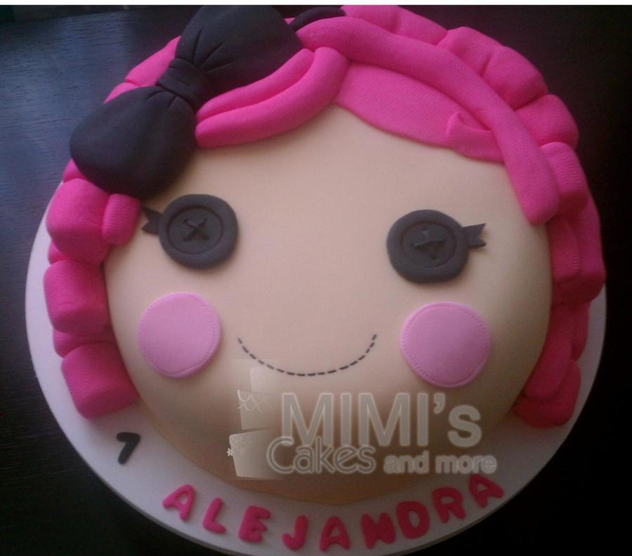 Cake Inspired In Lalaloopsy on Cake Central
