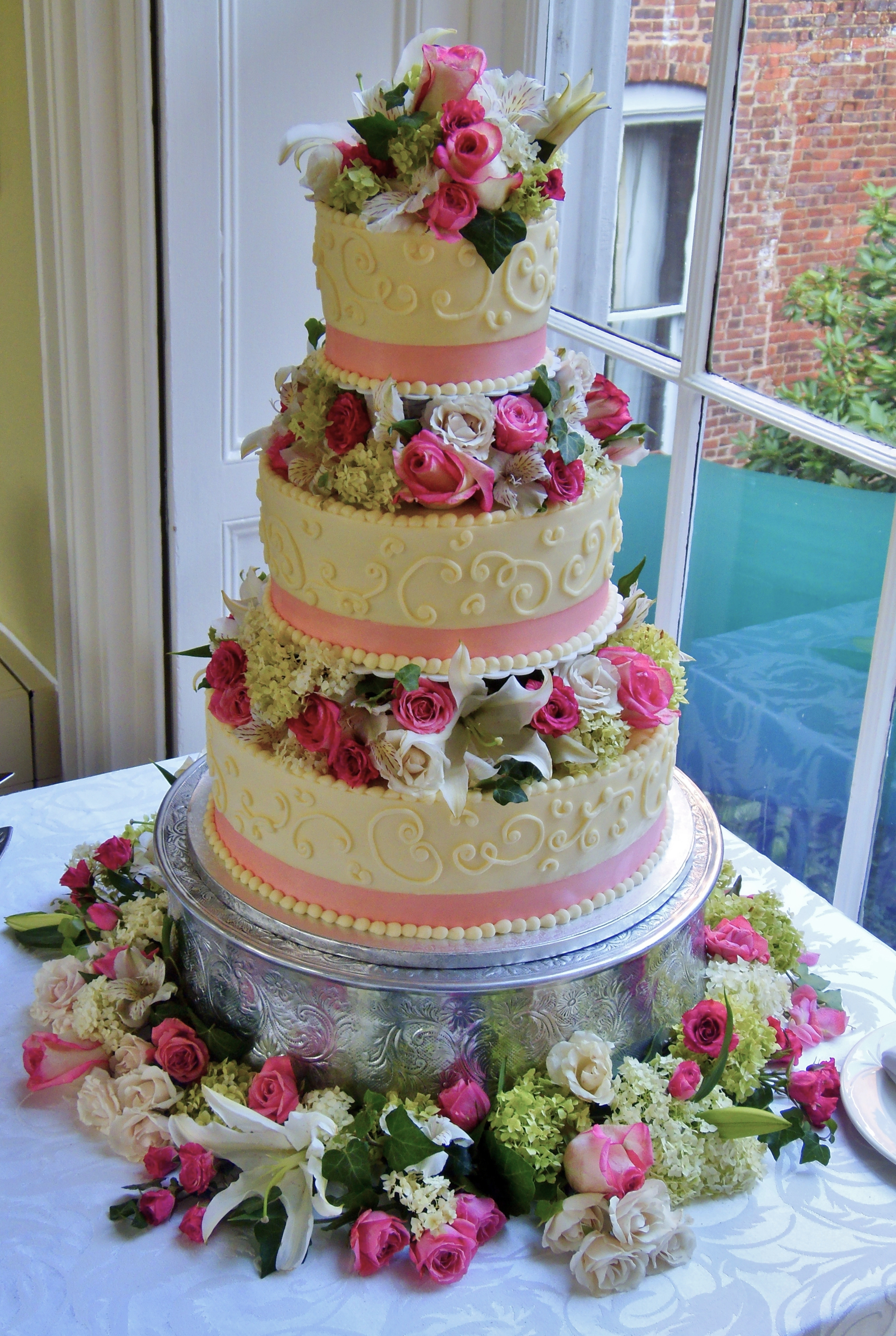 Buttercream Wedding Cakes CakeCentral