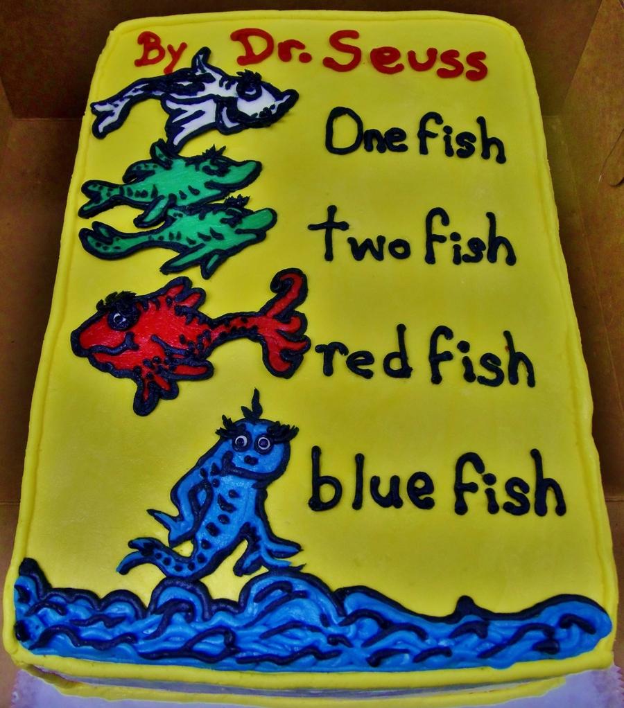 Dr Seuss Birthday Cake Cakecentral Com