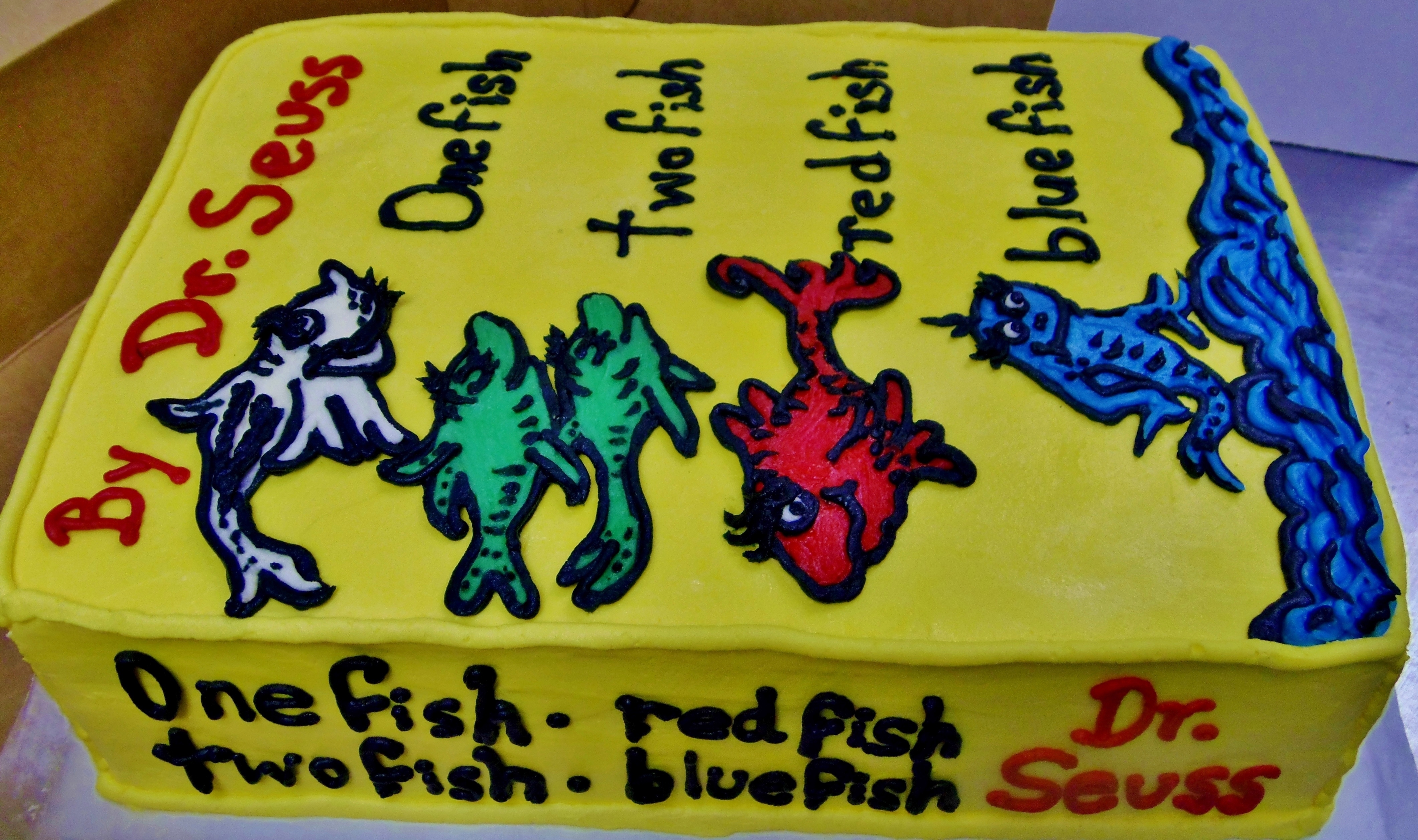 Dr Seuss Birthday Cake Cakecentral