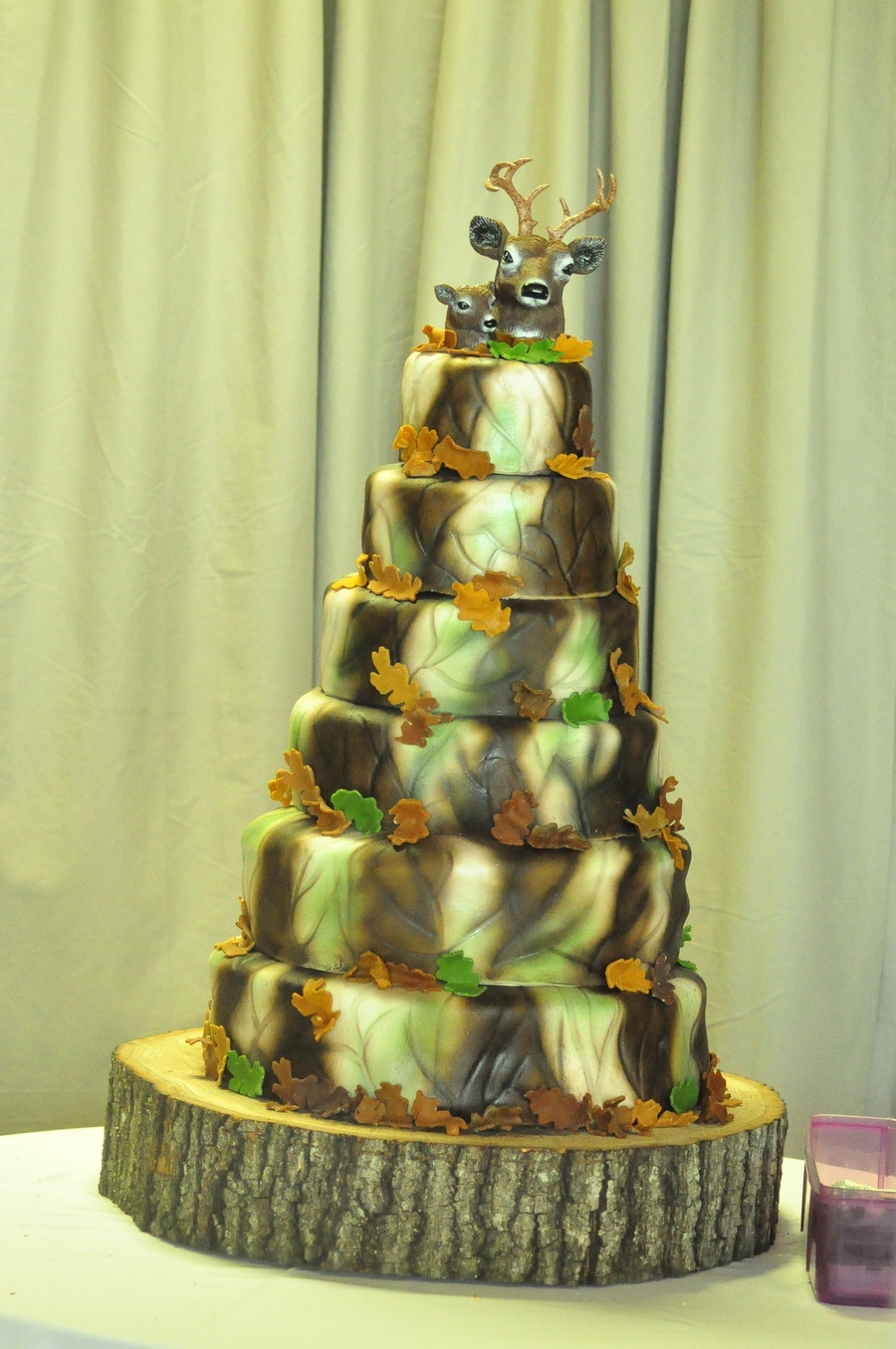 Camo Wedding Cakes. Camo Wedding Cake With His And Hers Side And ...
