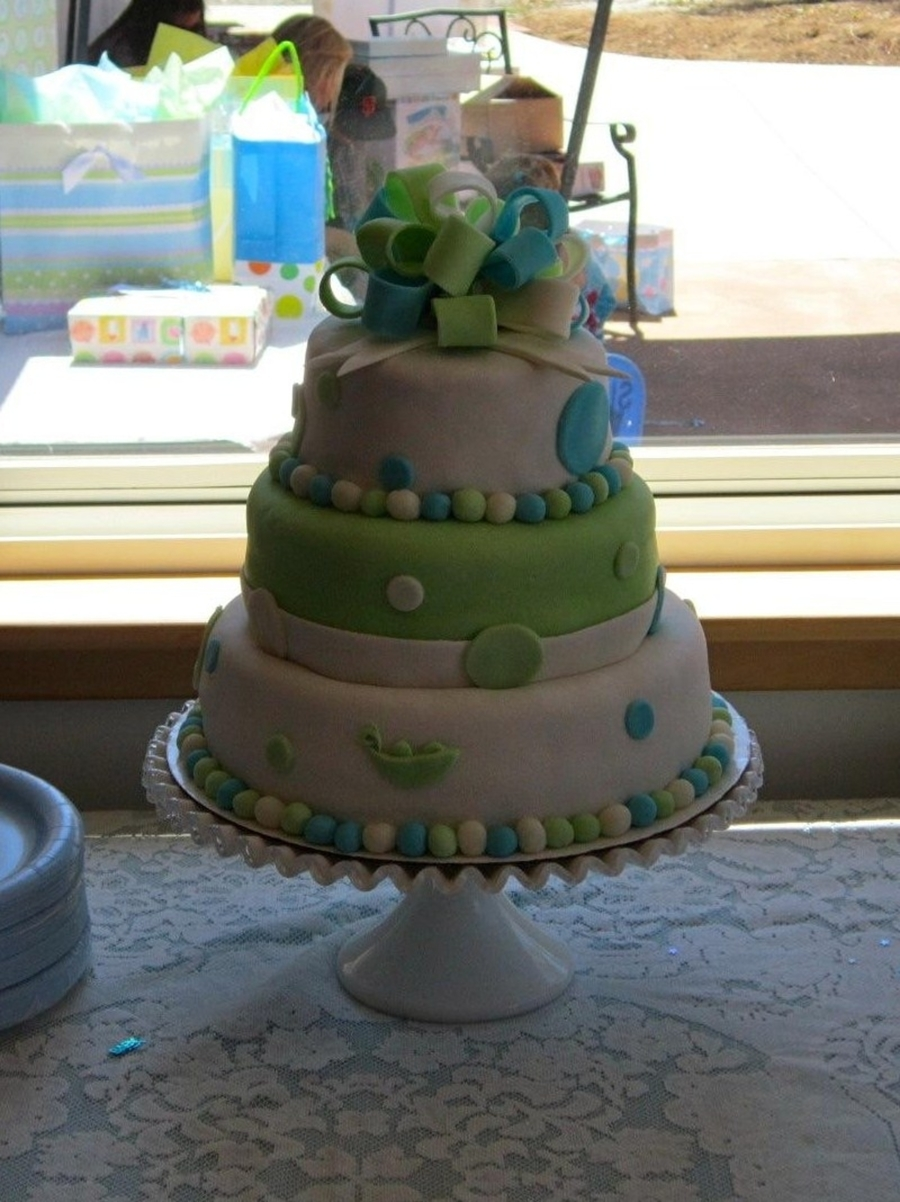 Bradley's Baby Shower on Cake Central