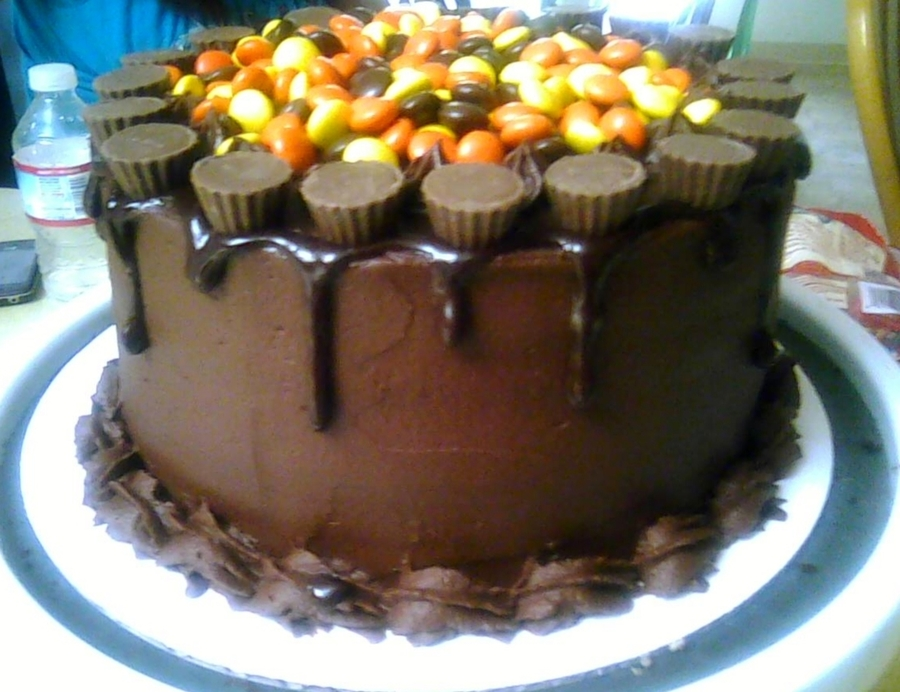 Reeses Cake on Cake Central