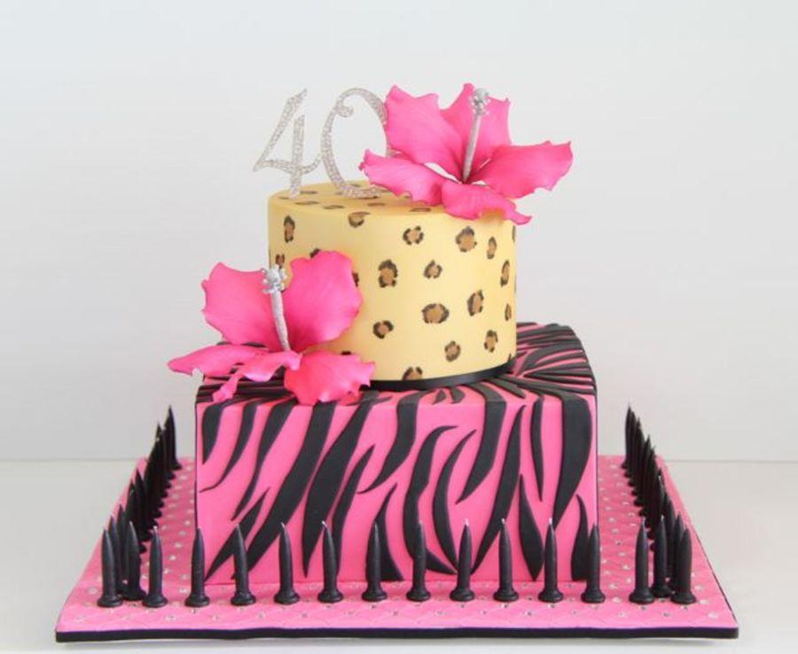 عکس کیک تولد خوشگل دخترانه