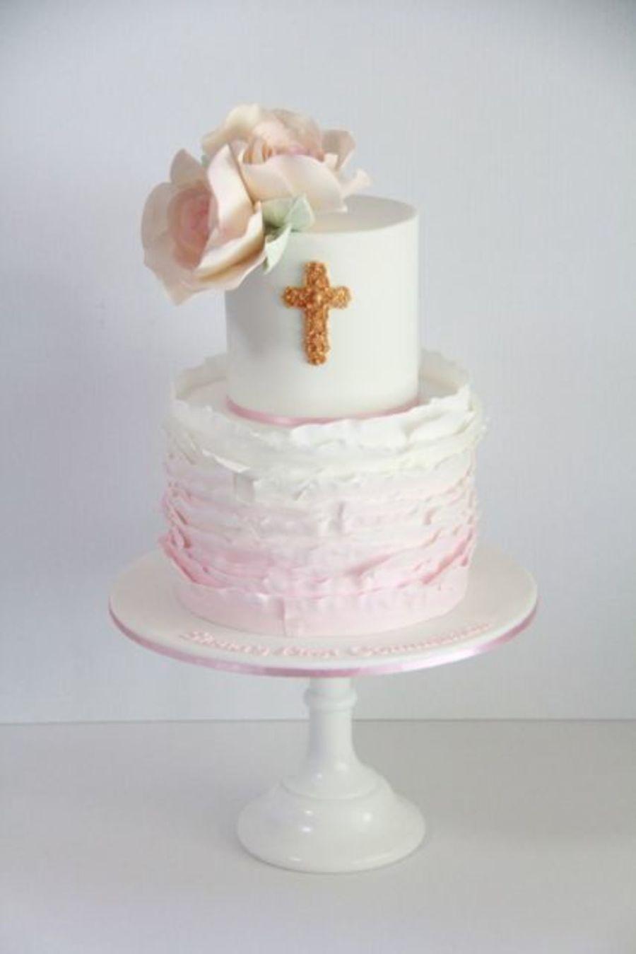 Fondant Cake First Communion